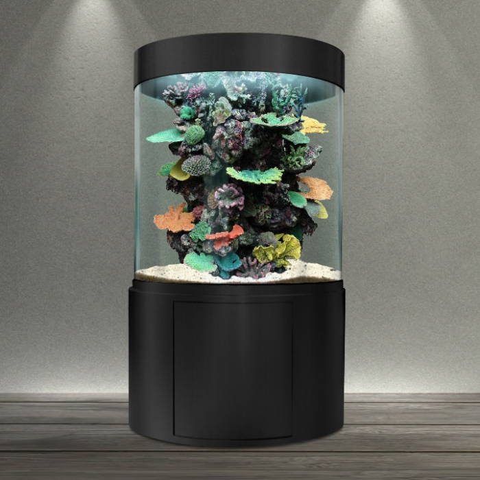 bacmarin les aquariums cylindriques. Black Bedroom Furniture Sets. Home Design Ideas