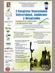 I Congreso Venezolano Universidad, Ambiente y Desarrollo