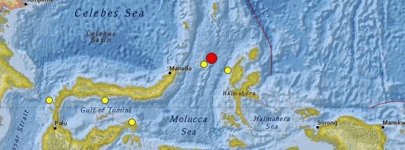 sismo 6,6 grados en Indonesia, 21 de Diciembre 2014