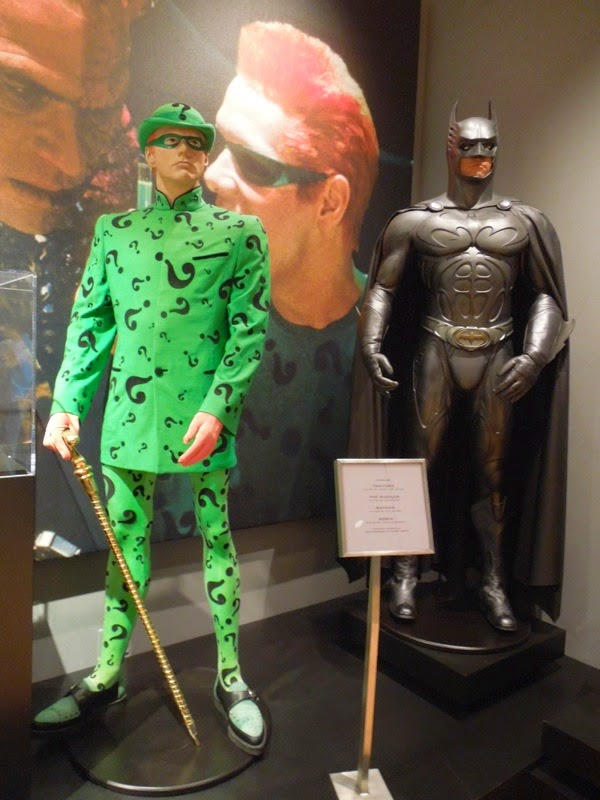 Screen-used Batman Forever movie costumes