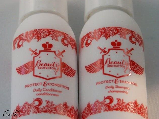 Minitallas dell champú y del acondicionador para el cabello Beauty Protector