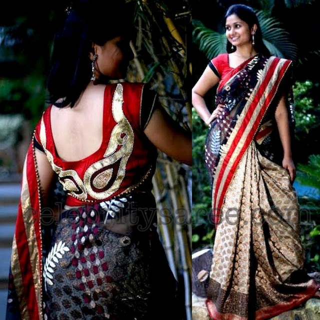 Banaras Net Saree