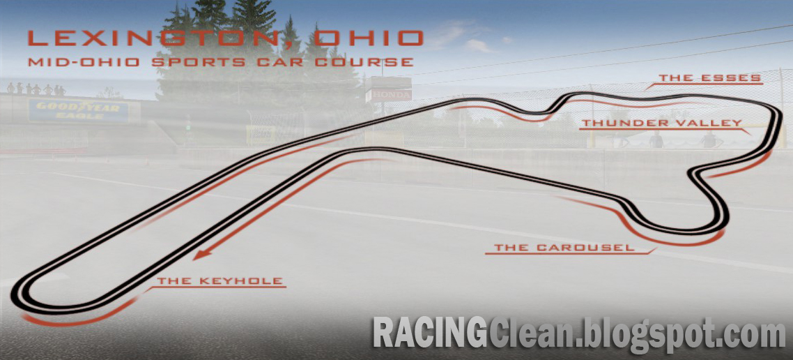 Mid Ohio Track Map >> Racing Clean: Mid-Ohio Sports Car Course Coming to RaceRoom Racing Experience