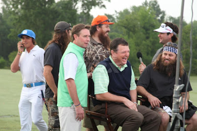 The Guys from Duck Dynasty on Morning Drive before their Pro-Am tee