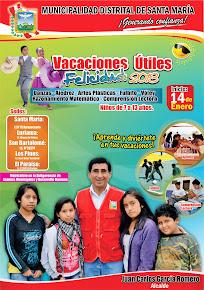 """Vacaciones Útiles """"Felicidad 2013"""""""