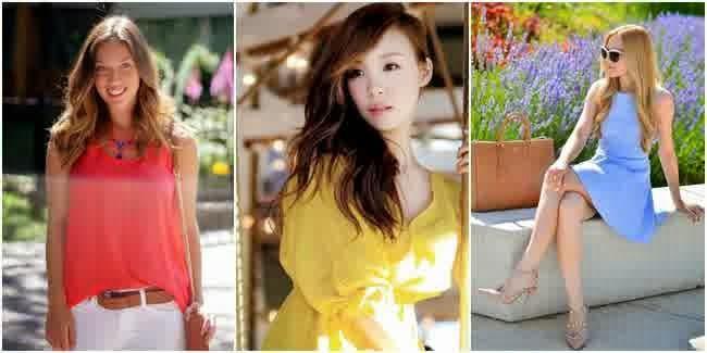 warna fashion untuk mencerahkan penampilan