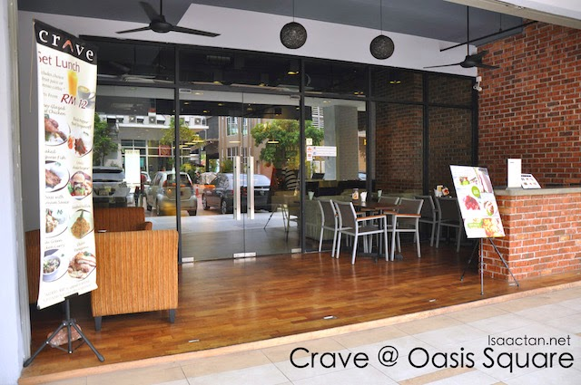 Crave Cafe @ Oasis Square Ara Damansara