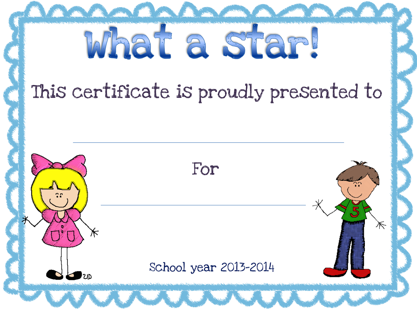 Star certificate templates super star certificate shining stars 1betcityfo Images
