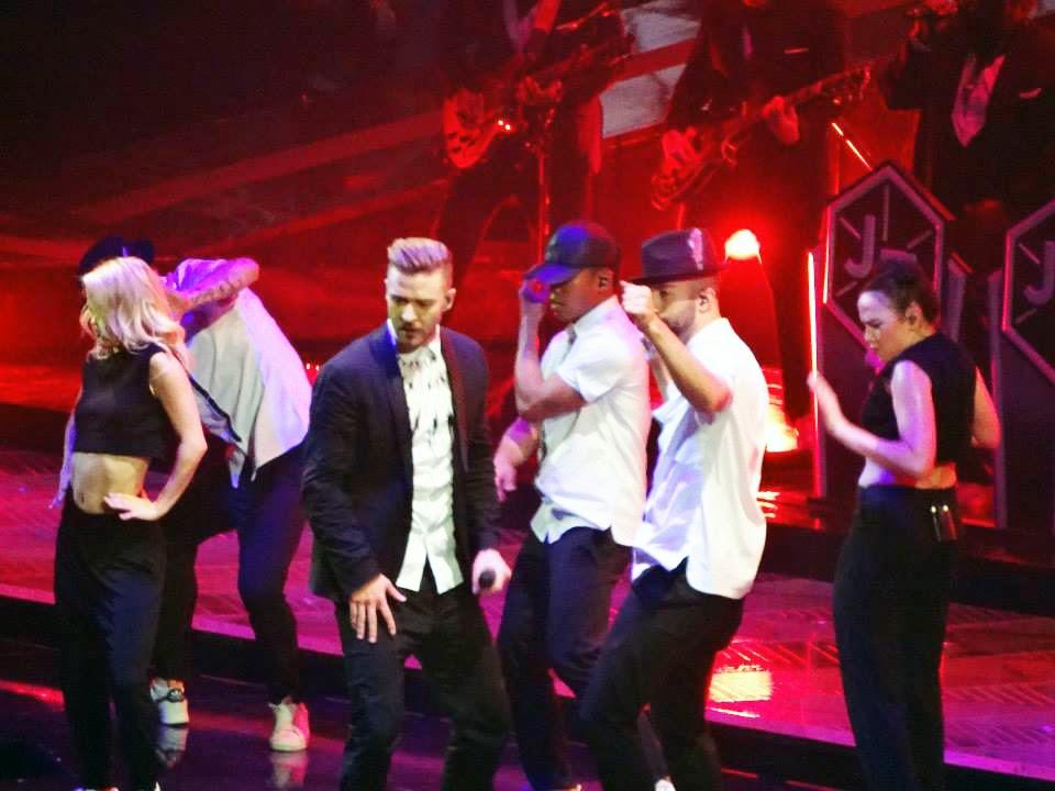 Justin Timberlake at the O2 London
