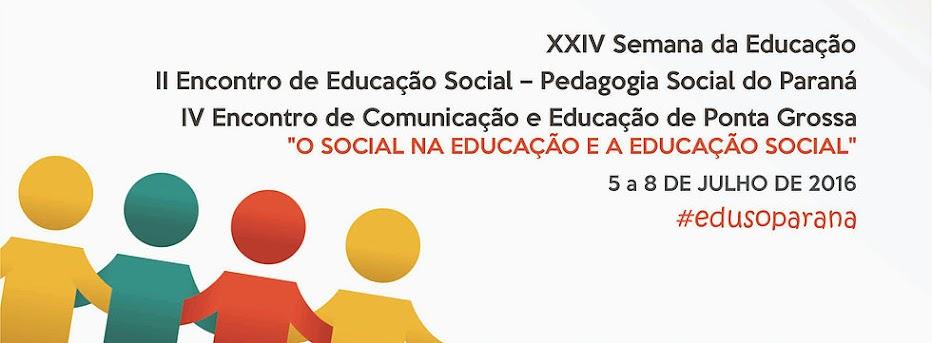 II Encuentro de Educación Social - Pedagogía Social de Paraná