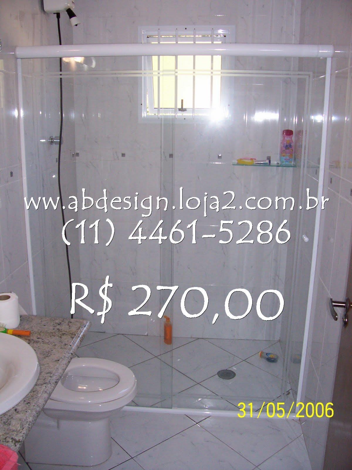 Imagens de #ACAB1F : Box para banheiro 3 x R$ 90 00 (Pronta Entrega) Até 1 00 largura x  1200x1600 px 3180 Box Banheiro 90 X 90