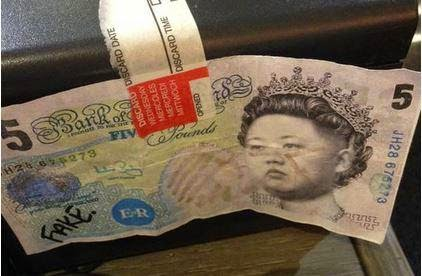 Kim Jong Un - The Queen of England?