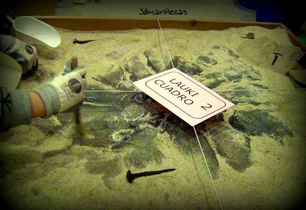 taller arqueología Bilbao - Arqueólogos por un día-