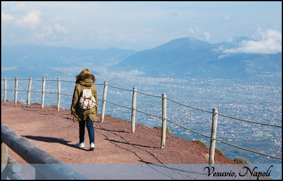 Postcard from Vesuvio