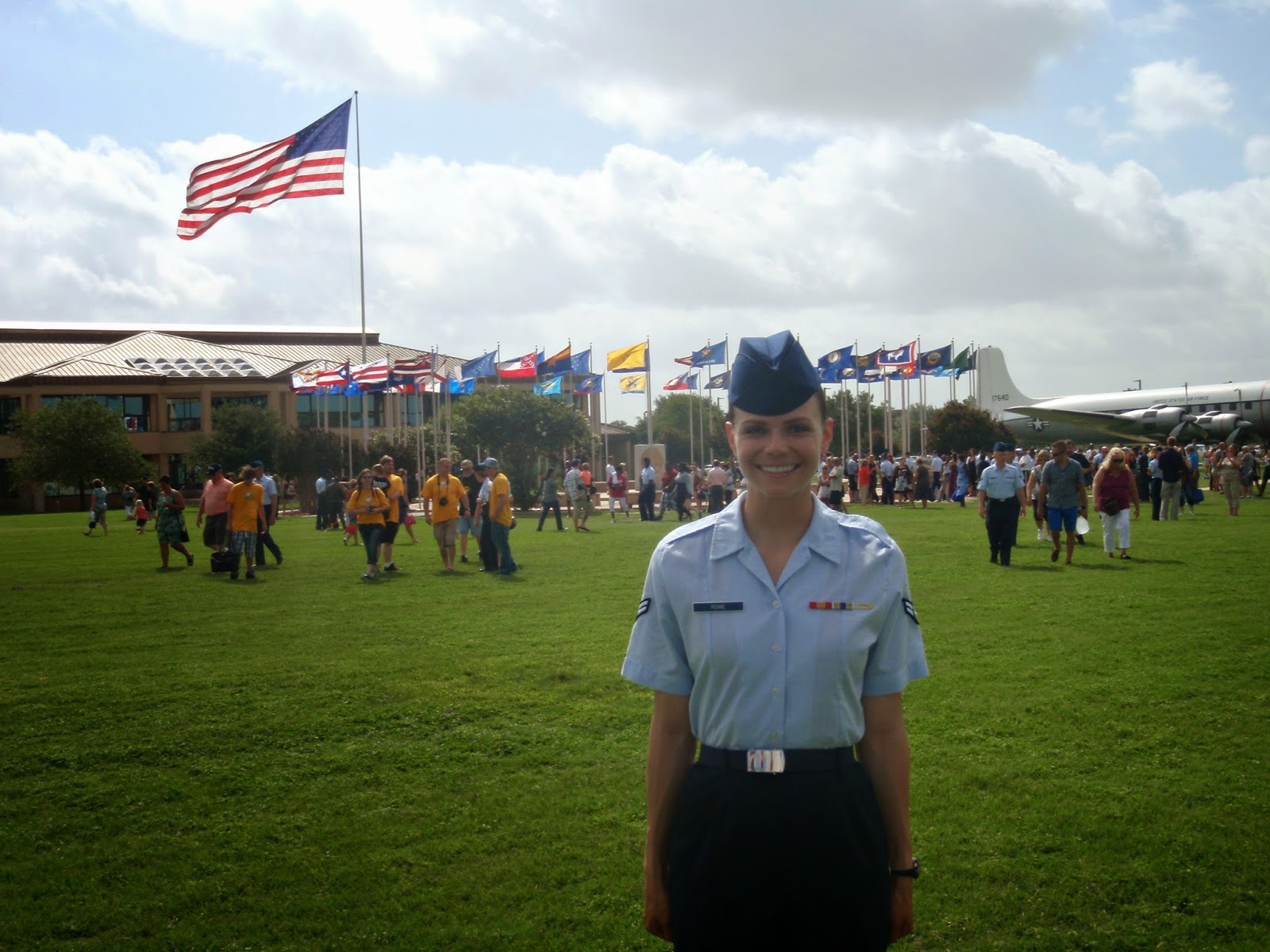 Air Force Basic Military Training Graduation Parade