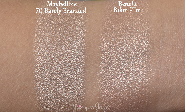 Benefit Creaseless Cream Shadow Bikini Tini Swatch