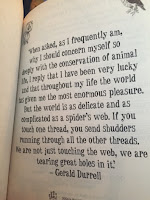 My Family and Other Animals by Gerald Durrell quote