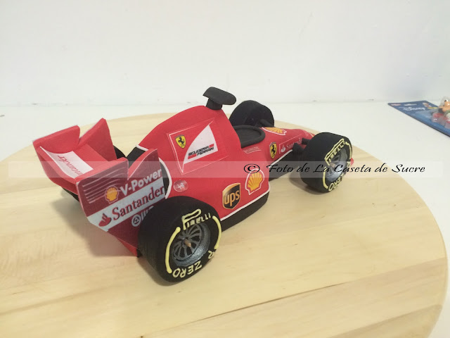 Ferrari F1 cake 1