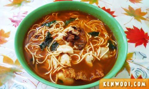 pokemon tom yam noodles