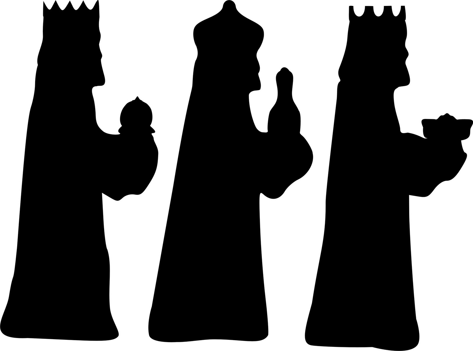 Three Wise Men Silhouette Template | Search Results | Calendar 2015