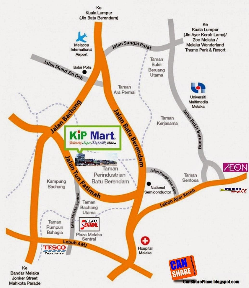 Kip Mart Melaka  Can Share