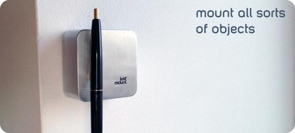 JustMount Magnetic Wall Organizer