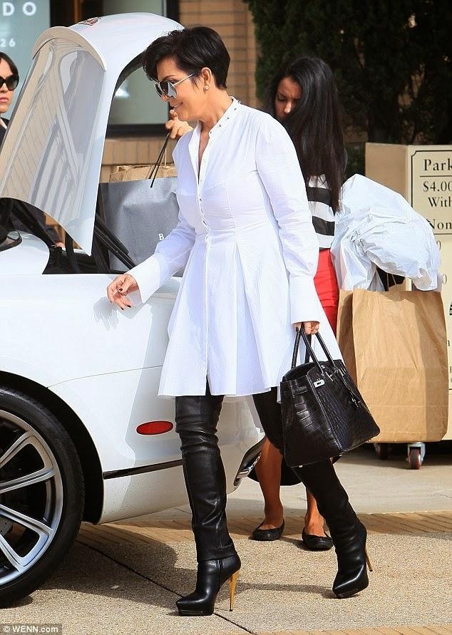 hermes birkin style bag - BIRKIN WATCHER: Kris Jenner