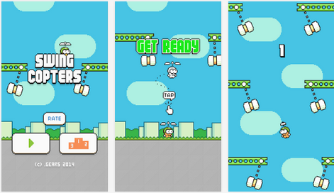 Game Android Swing Copters