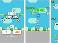 Swing Copters Game Ciptaan Dong Nguyen Setelah Flappy Bird