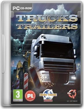 Capa Trucks & Trailers   PC (Completo) 2011 + Crack