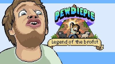 Game PewDiePie Legend of the Brofist Sekarang Bisa di Dapat di Steam!