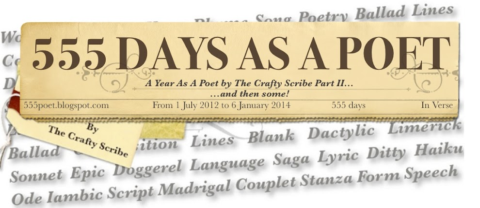 555 days as a Poet by The Crafty Scribe