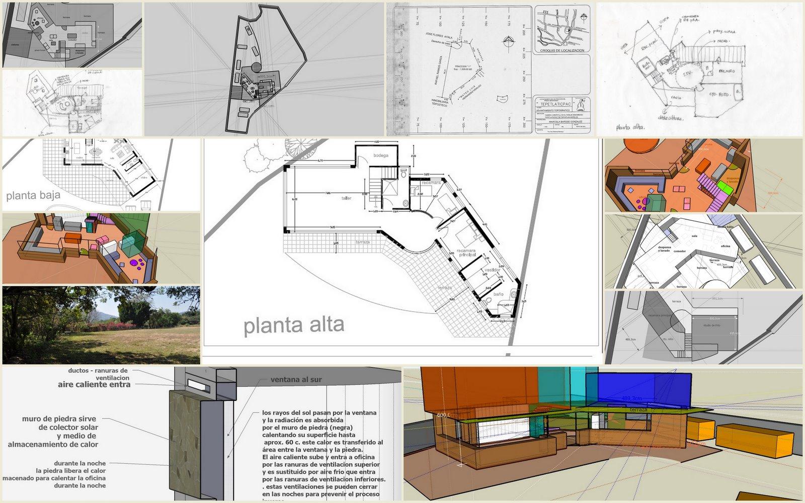 Econstructivismo dise o bioclim tico de casa habitaci n for Diseno de casa habitacion