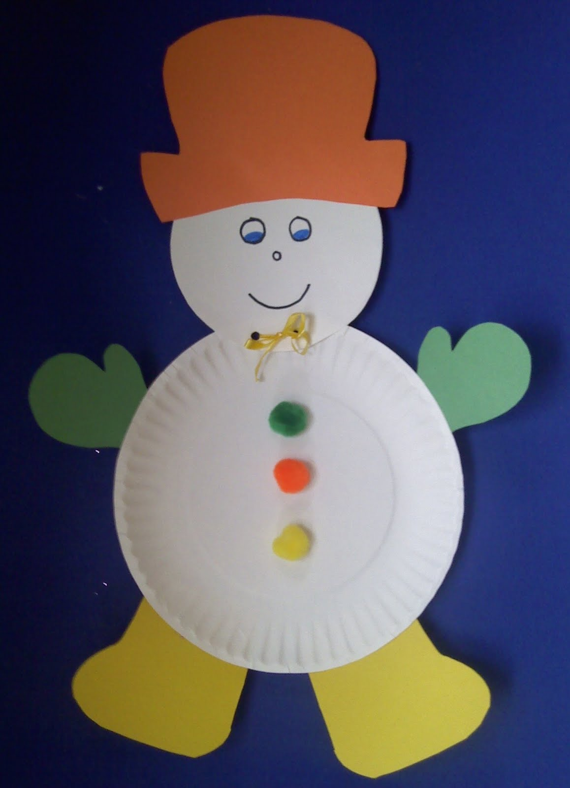 Crafts for preschoolers winter crafts for How to make winter crafts