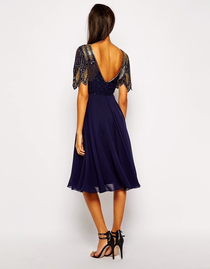 Virgos Lounge blue dress