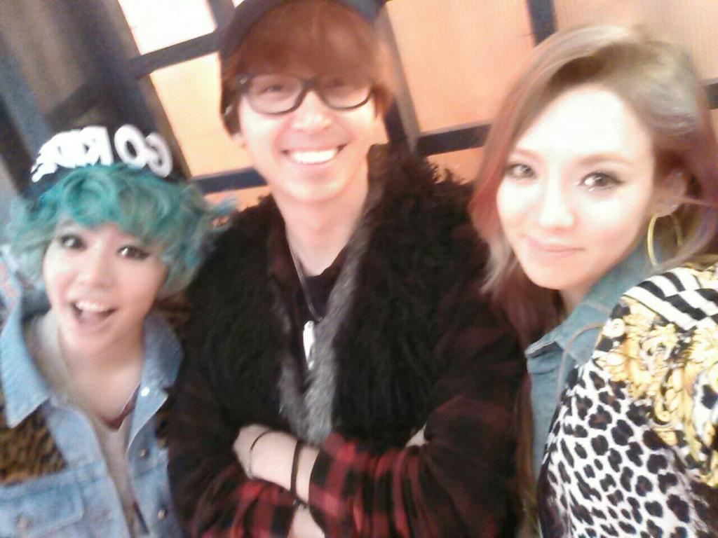 { 130103 } Sunny, Seohyun & Hyoyeon con Sim Jaewon 130103hyosunny