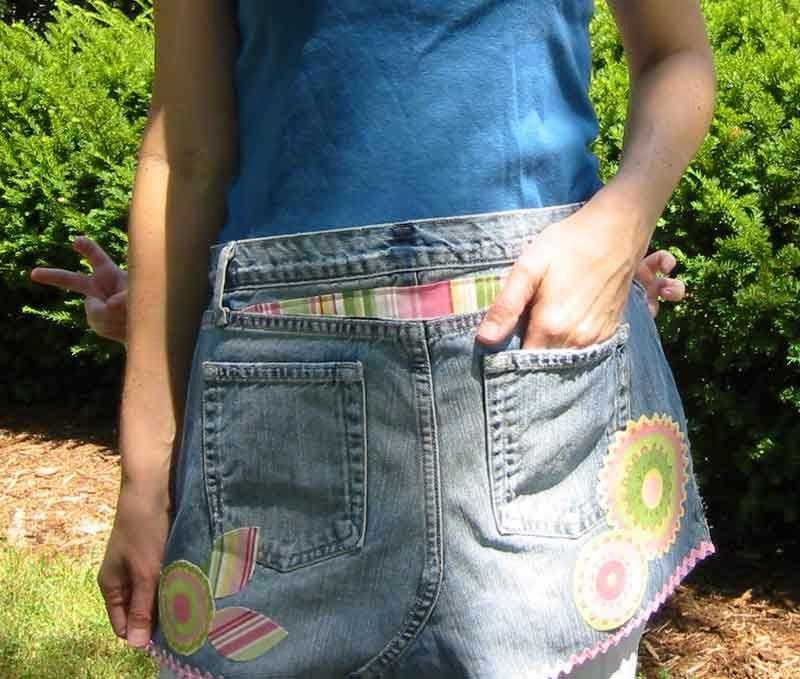 Что можно сшить из старых джинс фото 179