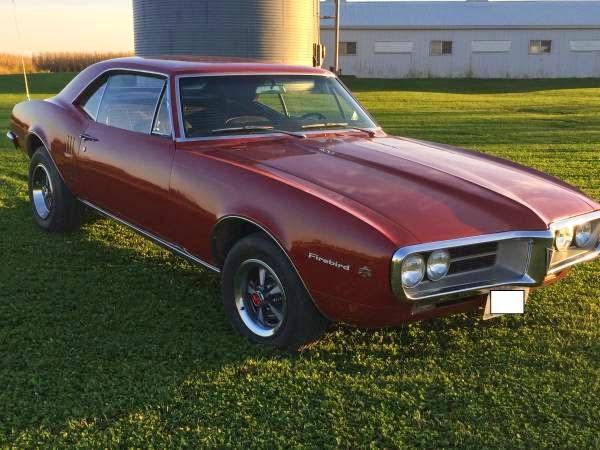 Pontiac Firebird For Sale Buy American Muscle Car