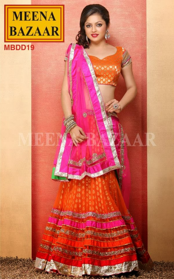 Drashti Dhami Dresses Madhubala Collection from Meena Bazaar 2013