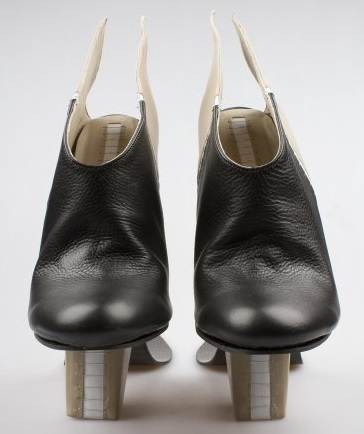 Carolin Holzhuber conjoined illusion sole shoes