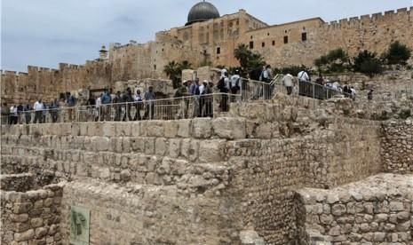 Film Israel Palsukan Simbol Al Aqsha