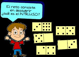 Acertijo, Reto matemático, Desafío matemático, Acertijo matemático, Problema matemático, Problema de lógica, Problema de ingenio matemático, El Intruso, Descubre la ficha del dominó
