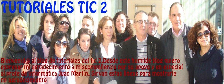 TUTORIALES TIC 2