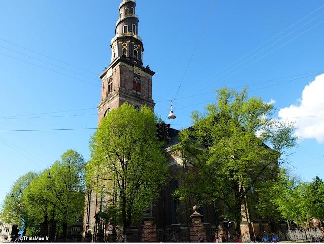 copenhague eglise notre-sauveur Christianshavn clocher spiral