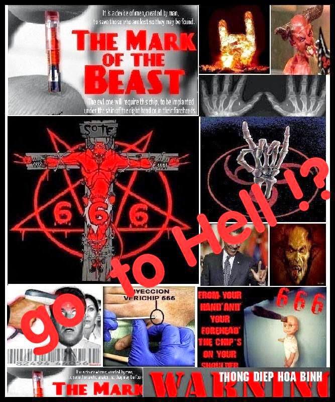 Video - Clip Con Chíp 666: Hãy Báo Cho Mọi Người Biết: Dấu Của Quỷ 666 Đã Có Mặt Ở Mỹ