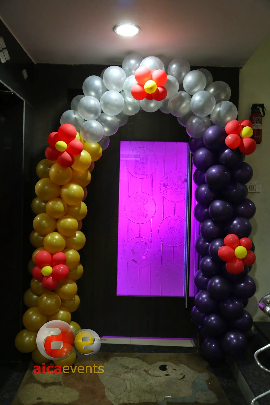 Princess Balloon Decoration Aicaevents Princess And Chariot Themed Birthday Decorations