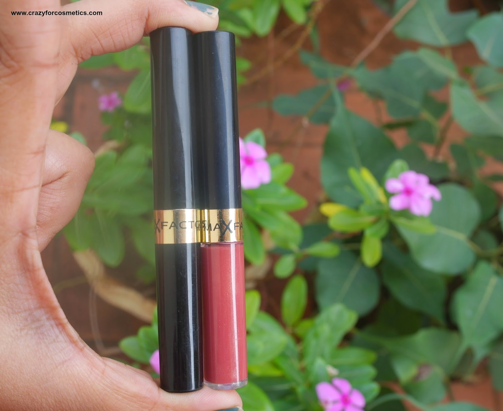 Max factor Lipfinity Lip Tint in Spicy Review