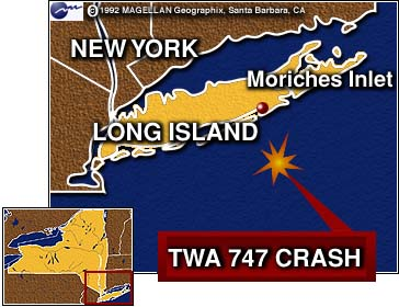 an investigation of the twa flight 800 Twa 800 an accident, say investigators published july 02, 2013  who recently retired as head of ntsb's aviation office and was a senior investigator during the flight 800 investigation, said .