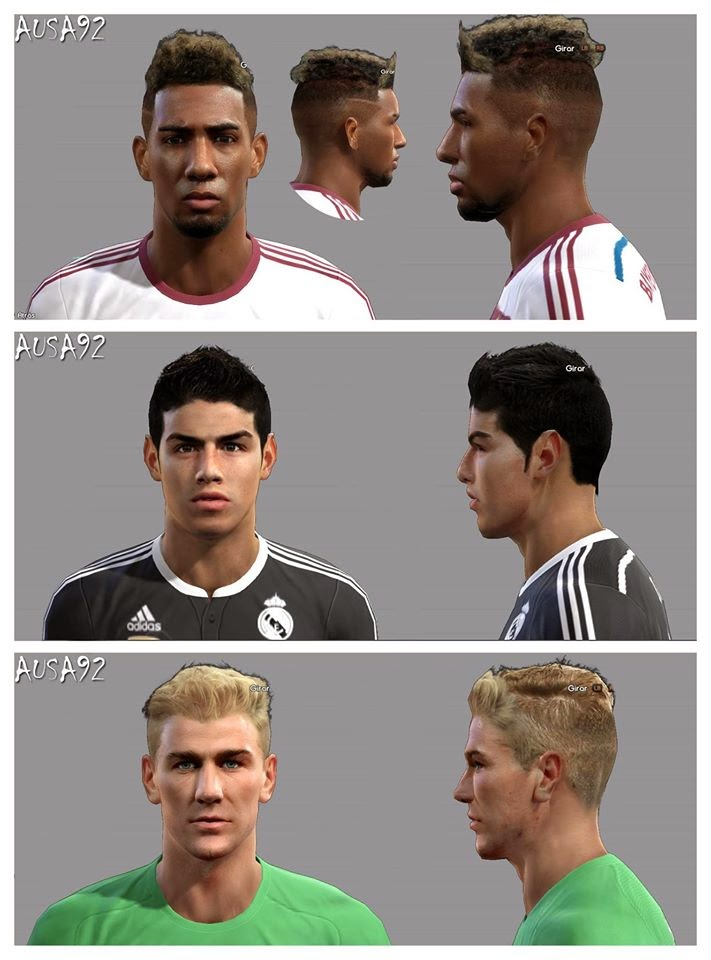 PES 2013 Facepack ABRIL 2015 By Ausa92