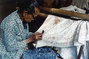 contoh batik tulis